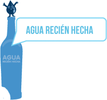 Agua recin hecha